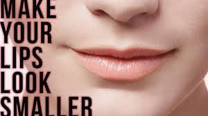 How to Make Your Lips Look Smaller